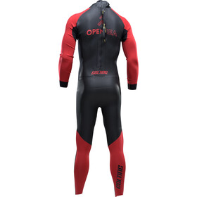 Colting Wetsuits Open Sea Wetsuit Herre black/red